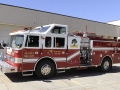 302 – 1991 Pierce Arrow 1500 gpm pump 750 gallon tank