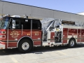 303 – 2012 Sutphen 75 ft Quint 2000 gpm pump 500 gallon tank