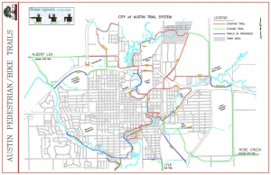 ' Minnesota Bike Trail Map