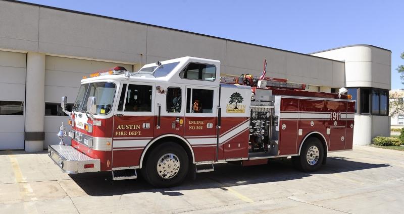 302 – 1991 Pierce Arrow 1500 gpm pump 750 gallon tank