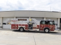 303 – 2012 Sutphen 75 ft Quint 2000 gpm pump 500 gallon tank